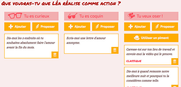 actions comlove